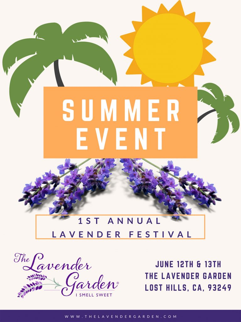 Annual Lavender Festival June 12 & 13 2021
