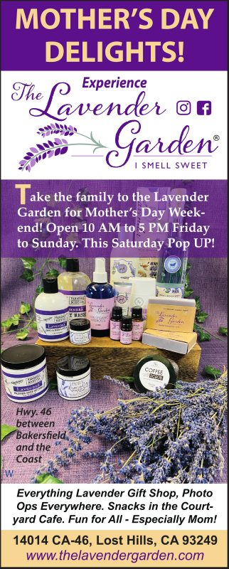 Mother's Day The Lavender Garden